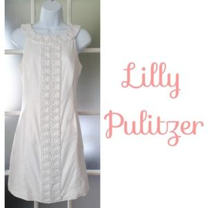 Lilly Pulitzer Jubilee White Beaded Dress